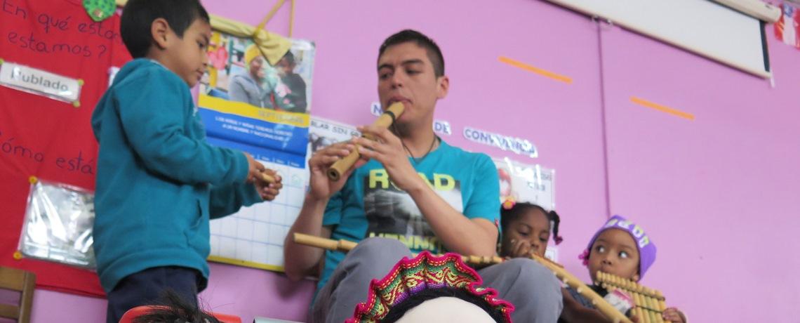 Familias enriquecen aprendizajes en el jardín infantil