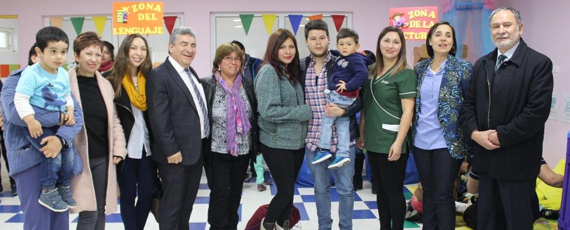 Familias de Hualqui celebran inauguración de nuevo jardín infantil