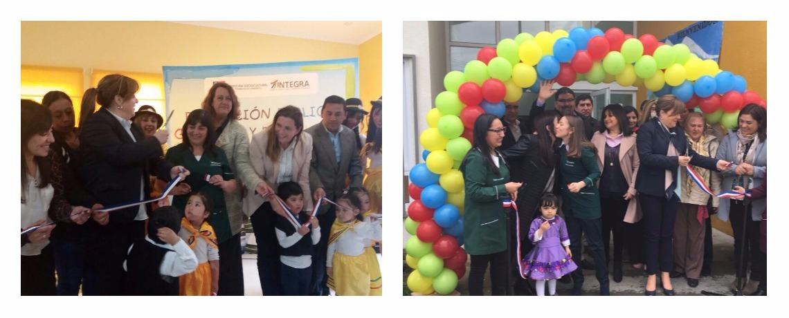 Con dos nuevos jardines infantiles en Araucanía avanza aumento de cobertura