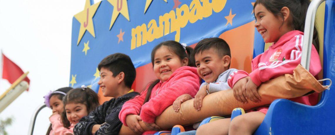 Ganadores del Carnaval Integra 2017 celebraron la Navidad en el Mampato