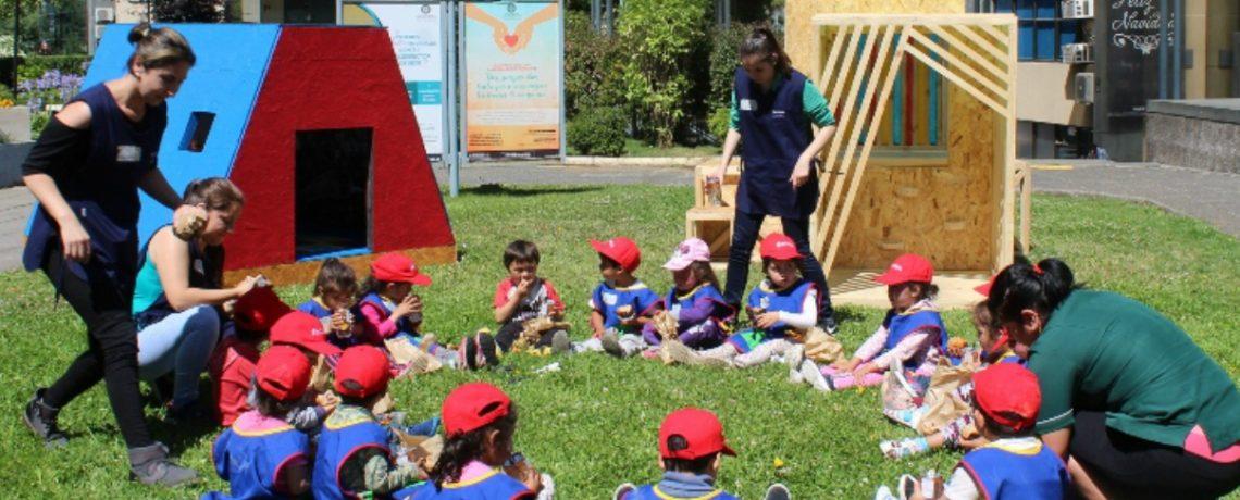 Casas de juegos para niños y niñas de Integra