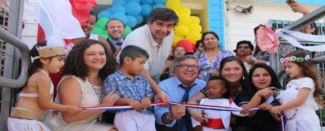 En Rancagua mejoran calidad de vida con nuevo jardín infantil