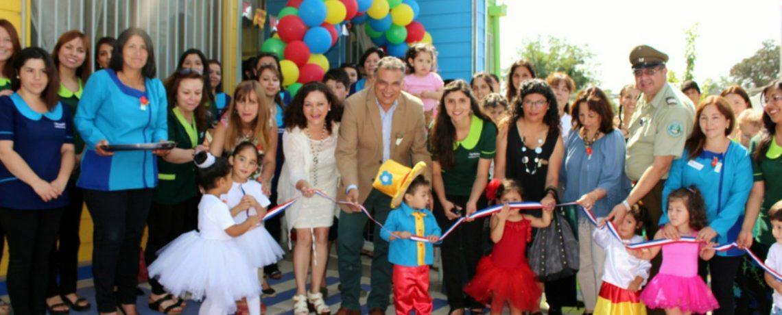 Ayekantún es el nombre del nuevo jardín infantil en San Fernando