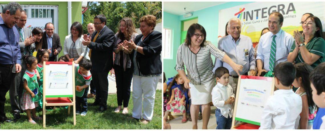 San Carlos y Chillán tendrán nuevos jardines Integra