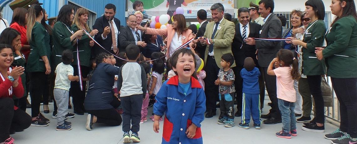 Tongoy inaugura reposición de jardín infantil Perlitas de Ostión