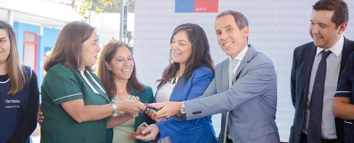 Se abren las puertas de nuevo jardín en la comuna de Santiago
