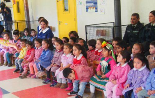 Jardín infantil de Traiguén fomenta el amor por la lectura