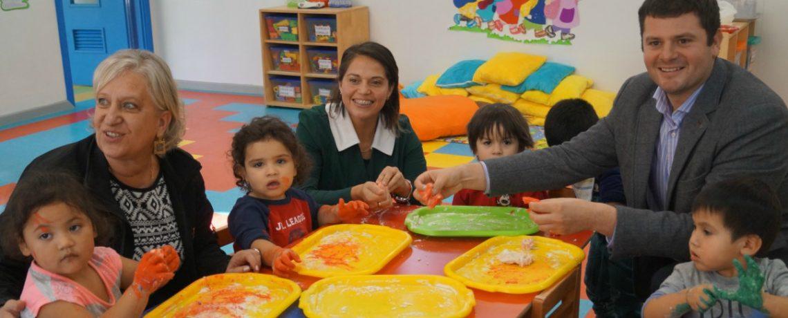 Seremi de Educación participa en experiencia educativa de jardín infantil Integra