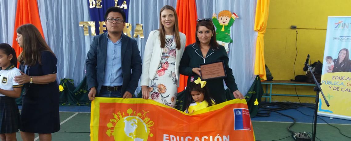Jardín infantil de Tocopilla recibe certificación ambiental