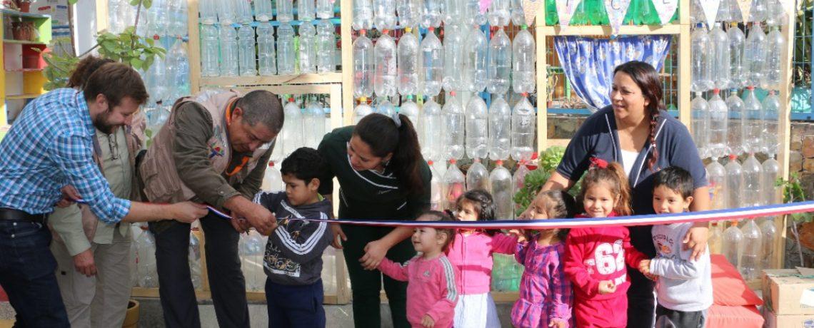 Jardín infantil Arenitas construyó casa ecológica