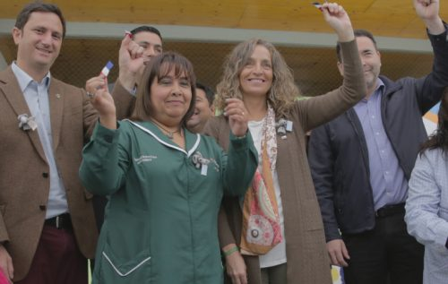 Inauguramos nueva infraestructura de jardín infantil de Melipilla
