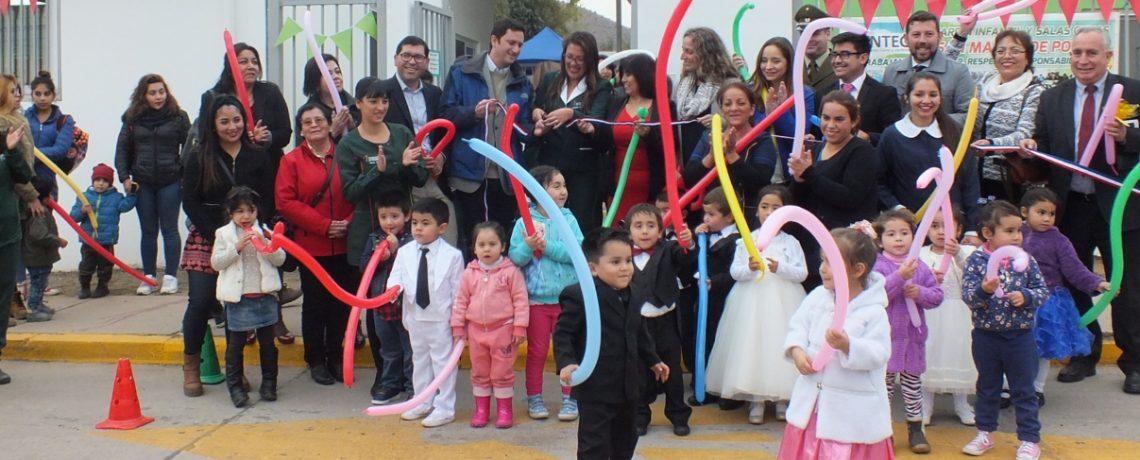 Inauguramos reconstrucción de jardín infantil en Monte Patria