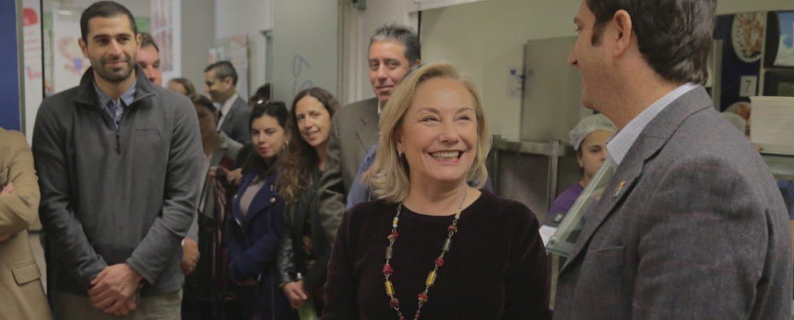 Primera Dama se reúne con trabajadores de Integra