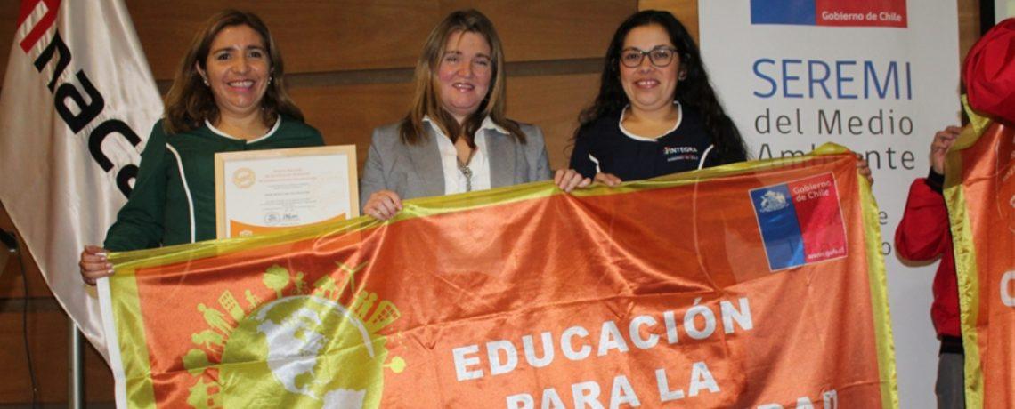 Jardín infantil de La Ligua obtiene certificación ambiental