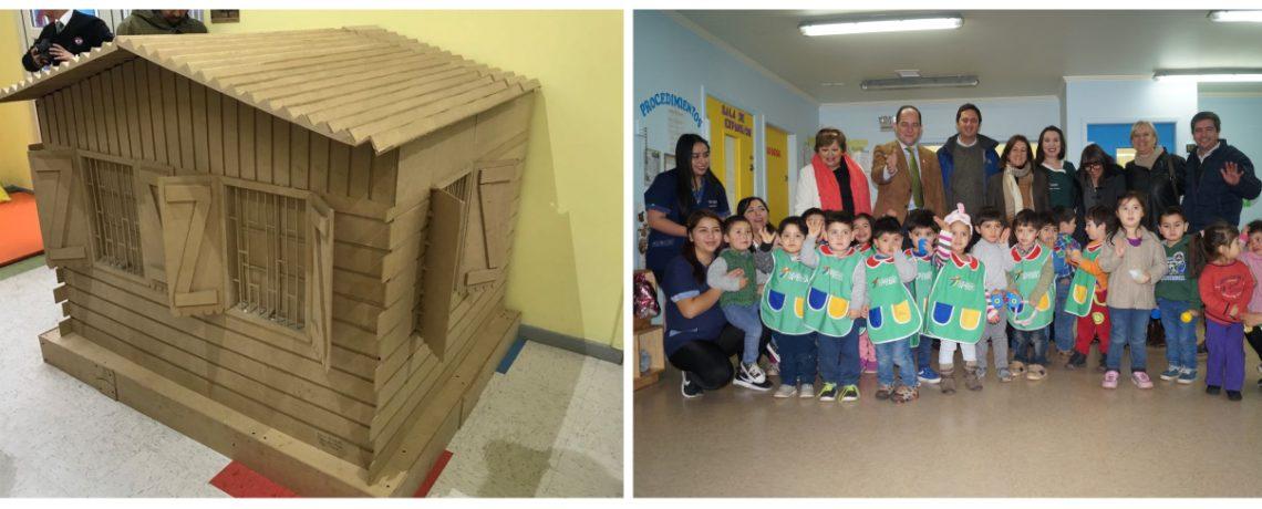 Jardín infantil de Paillaco recibió donación del Museo Violeta Parra