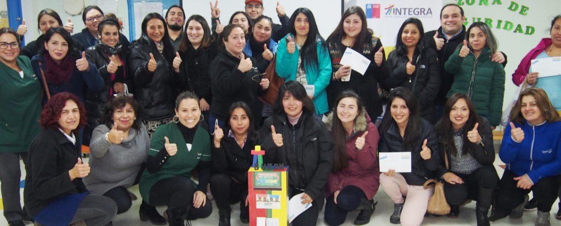 Equipos y familias celebraron a Fonoinfancia con el Buzón Viajero