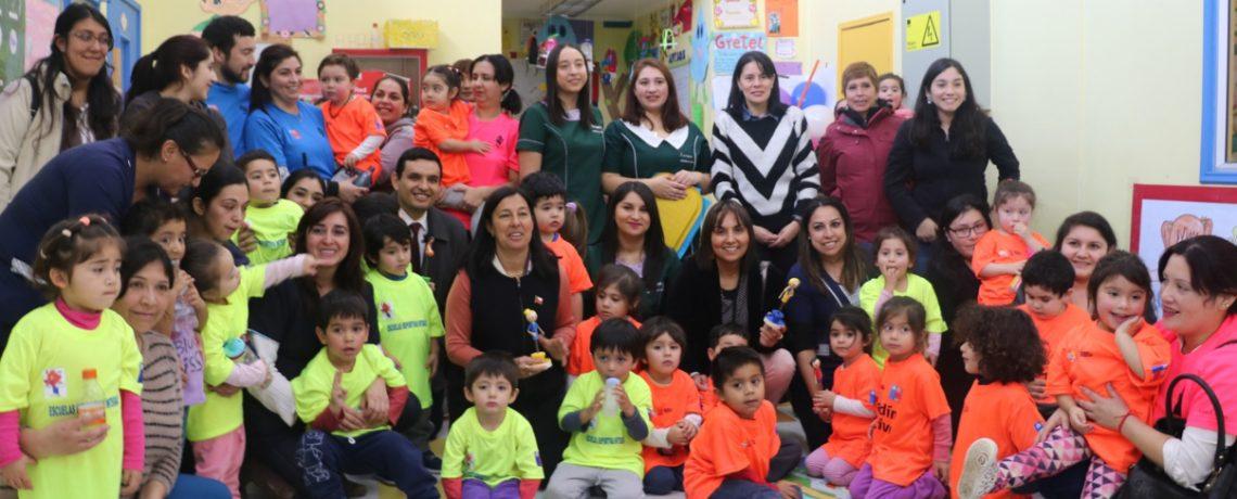 Ministra del Deporte visitó jardín infantil de Puerto Montt
