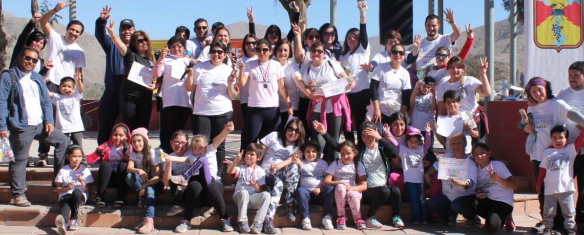 Niños y familias corrieron por una vida activa en Tierra Amarilla