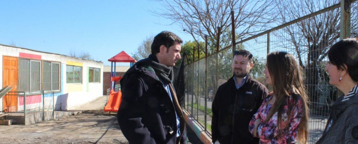 Medidas para restablecer la atención tras incendio de jardín de Villa Alemana