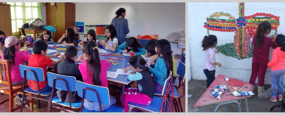 Pequeños unen a sector de Copiapó a través del arte