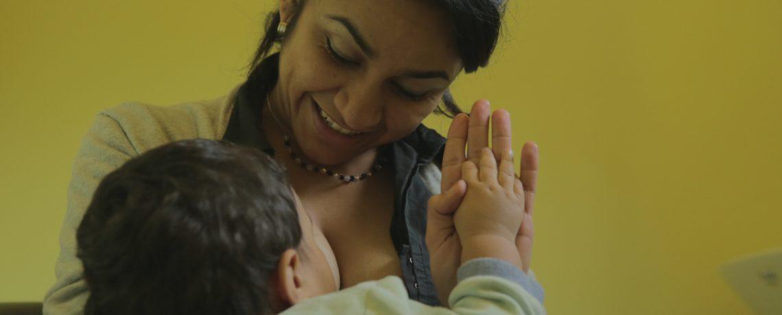 Jardines promotores de la lactancia materna