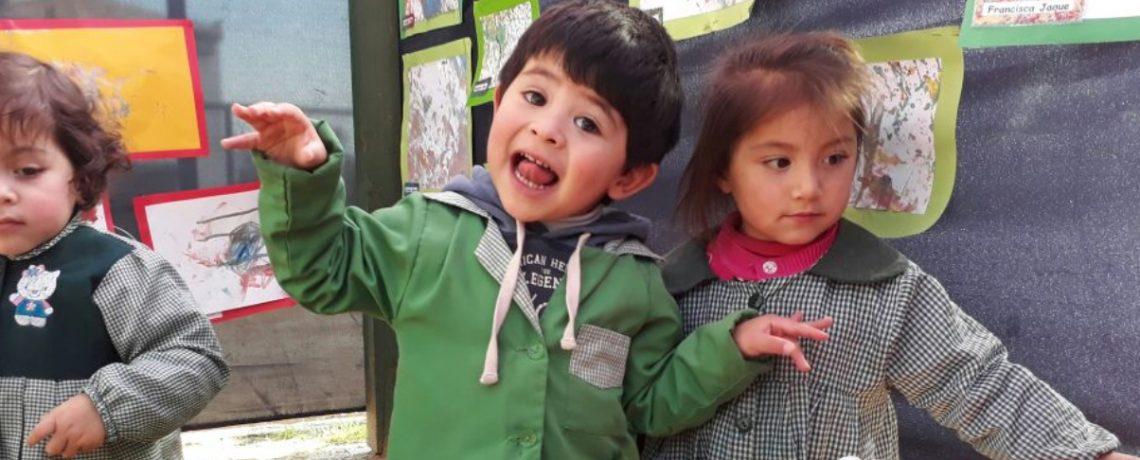 Expo arte del jardín infantil Pulgarcito de Valparaíso