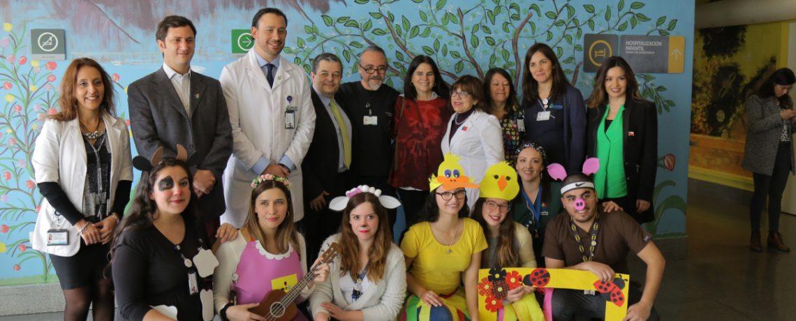 Mi Jardín al Hospital celebró Día del Niño en Hospital Doctora Eloísa Díaz