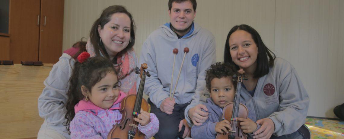 Integra y FOJI lanzan programa de aprendizaje musical a niños desde los 6 meses