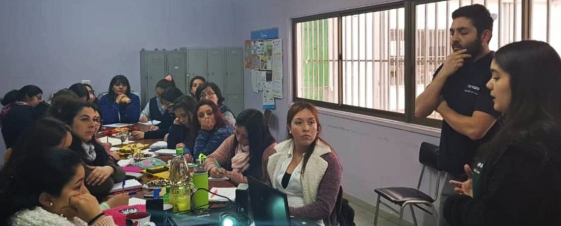 Jardín Sobre Ruedas apoya la atención en Quintero y Puchuncaví