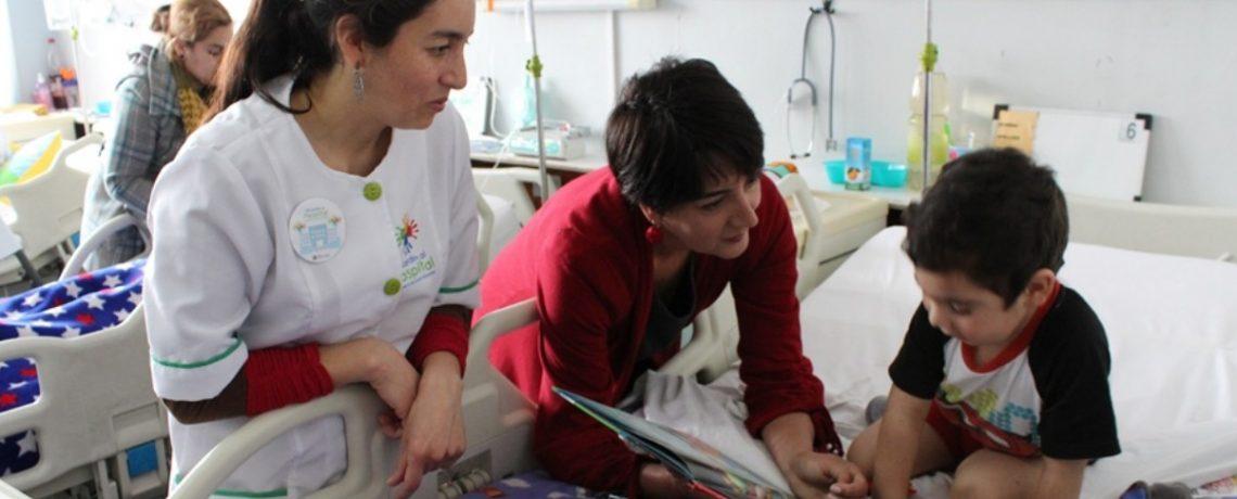 Programa de Integra lleva el juego al Hospital Carlos Van Buren