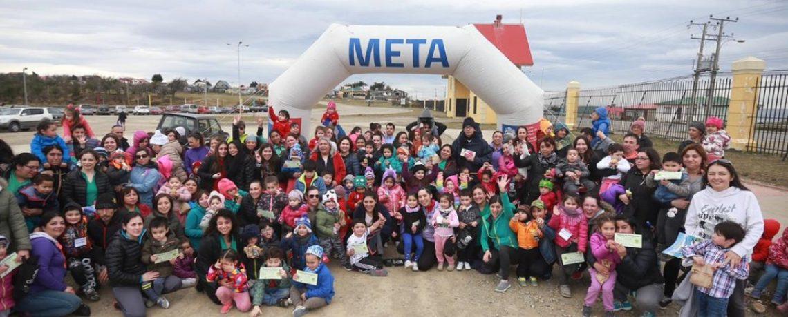 Magallanes: Niños y sus familias cuidan su salud, para cuidar el planeta
