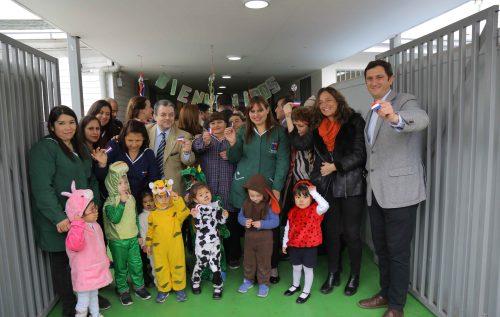 Integra inaugura nueva infraestructura en jardín infantil de El Bosque