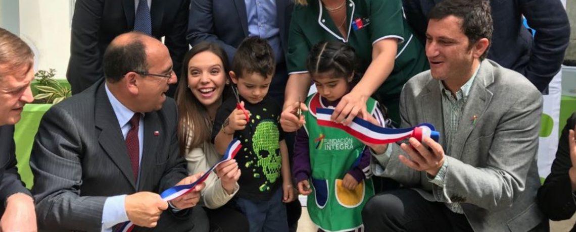 Integra inaugura nuevo jardín infantil en la comuna de Putaendo