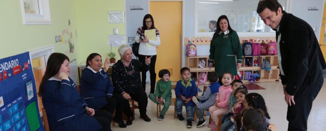 Director Ejecutivo de Fundación Integra visita La Araucanía