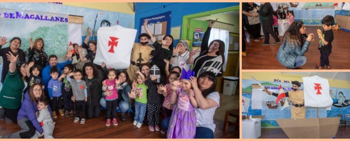 Niños conocen a Hernando de Magallanes gracias al teatro