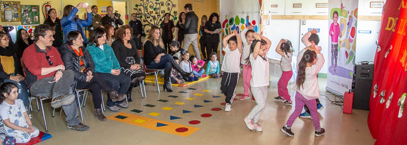 Jardín infantil Magallanes ganó proyecto social