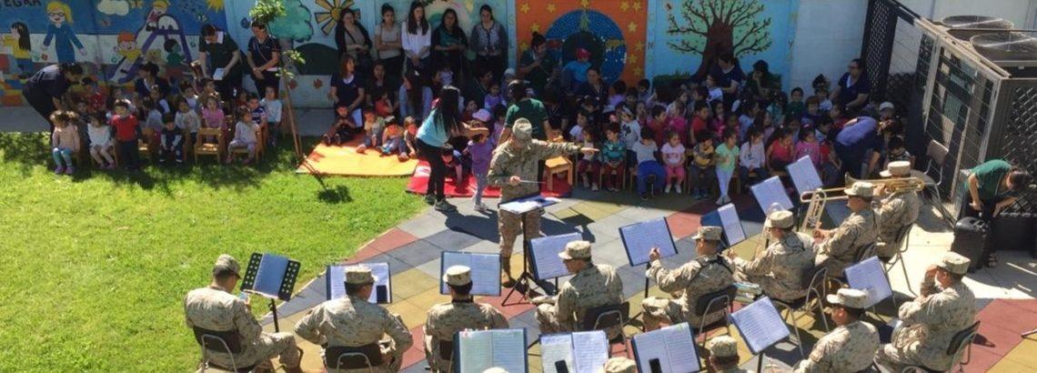 Niños y niñas disfrutaron de la música