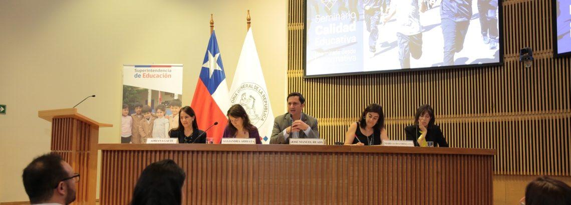 Director Ejecutivo participa de seminario de la Superintendencia de Educación