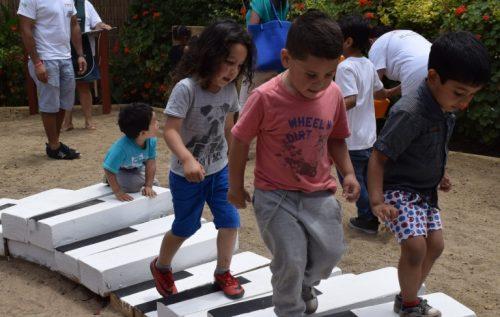 Construyendo patios que educan