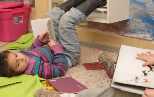 La lectura está en el aire en jardín infantil de La Ligua