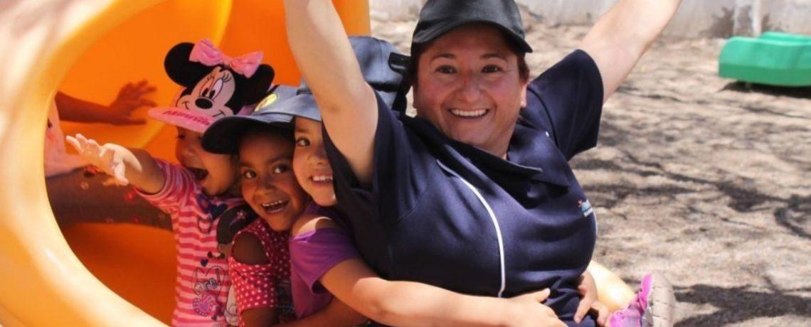 Expirquinera de Inca de Oro educa a niños para la vida