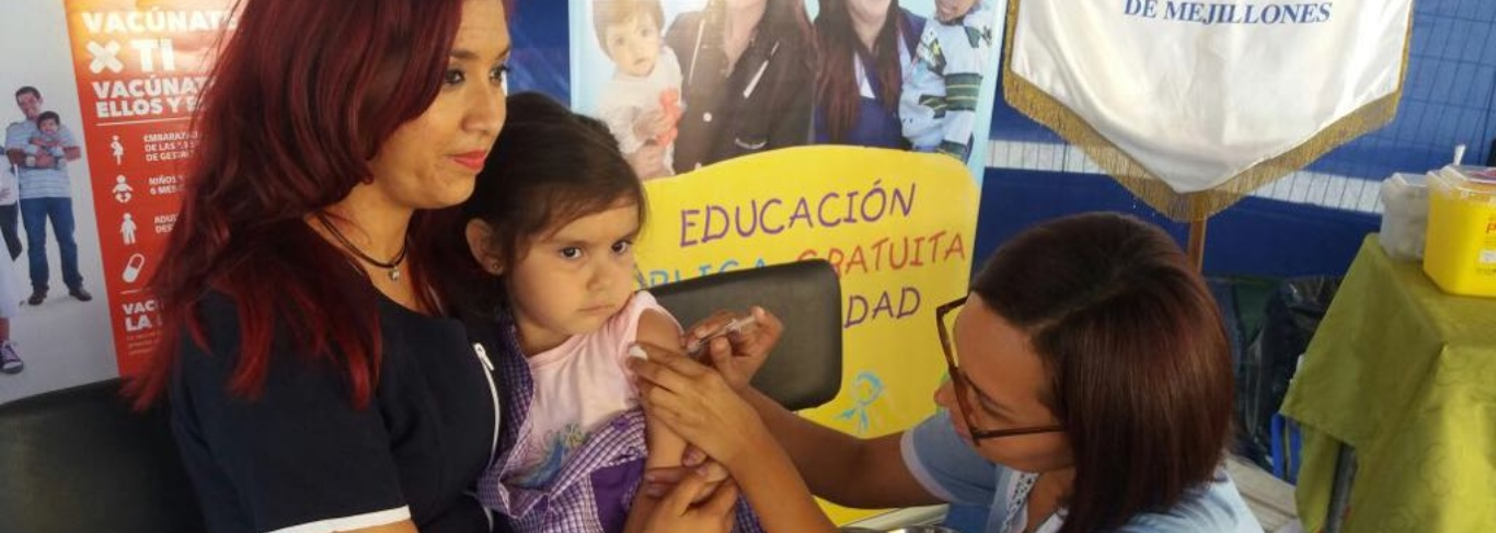Las 15 vacunas obligatorias del Minsal