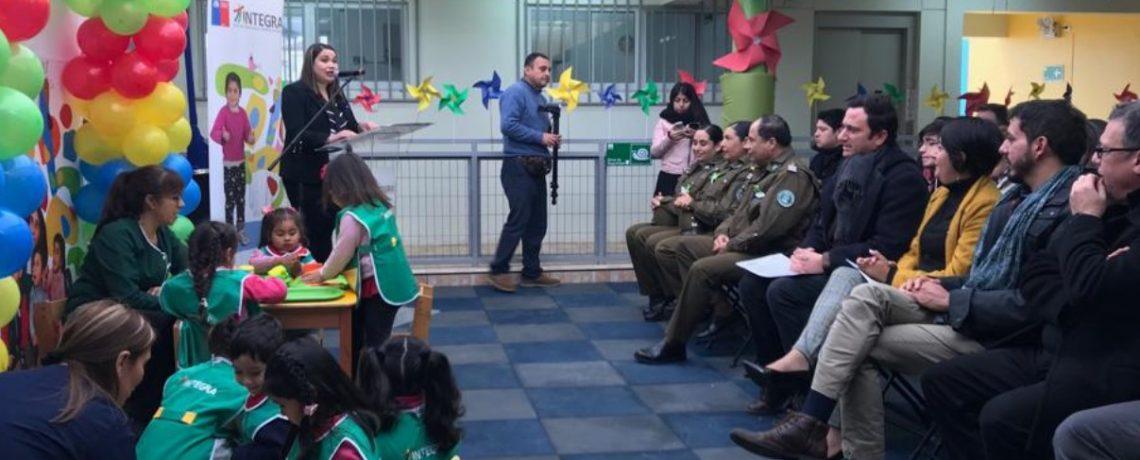 Inauguramos jardín infantil en Cerro Playa Ancha de Valparaíso