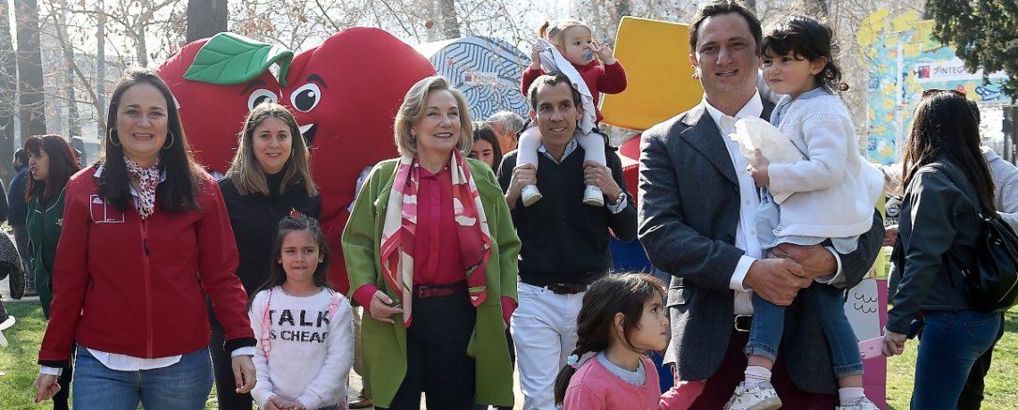 """Cecilia Morel: """"Compartir en familia es el mejor regalo para un niño"""""""