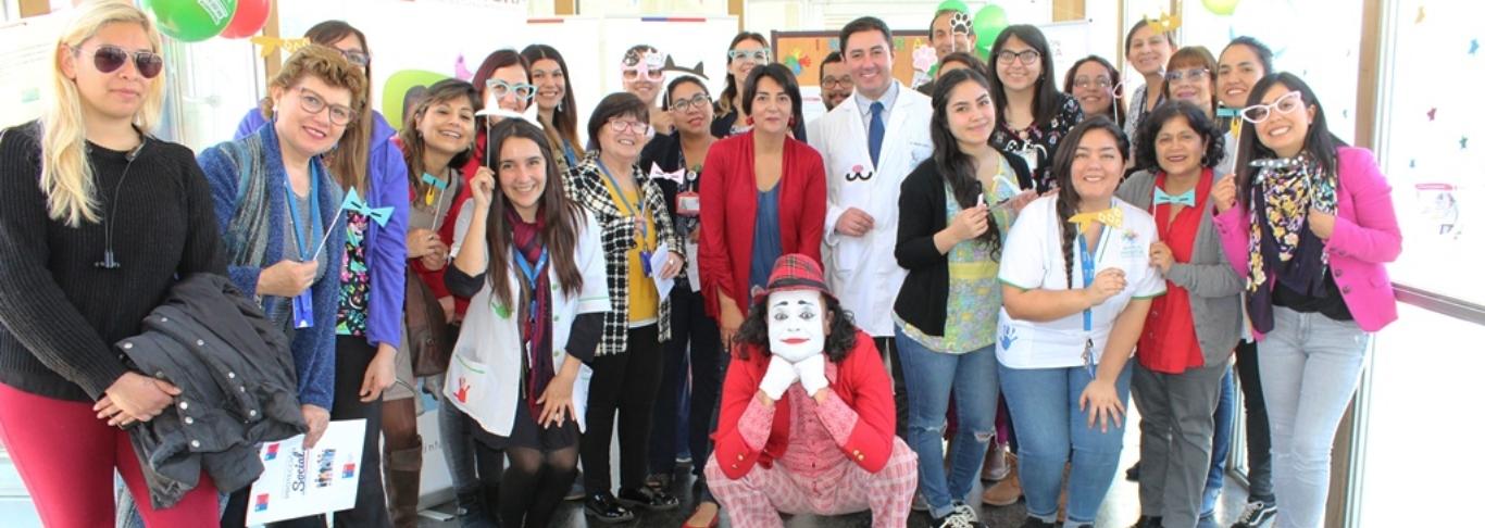 5 años celebró Mi jardín al Hospital en Valparaíso