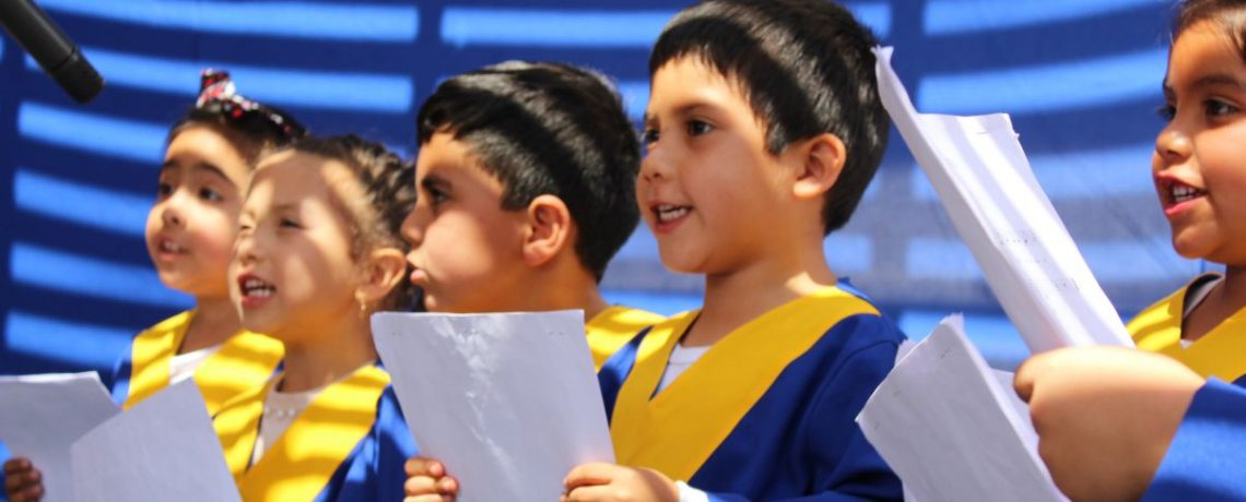 Coro de niños deleita a la comunidad de Coquimbo