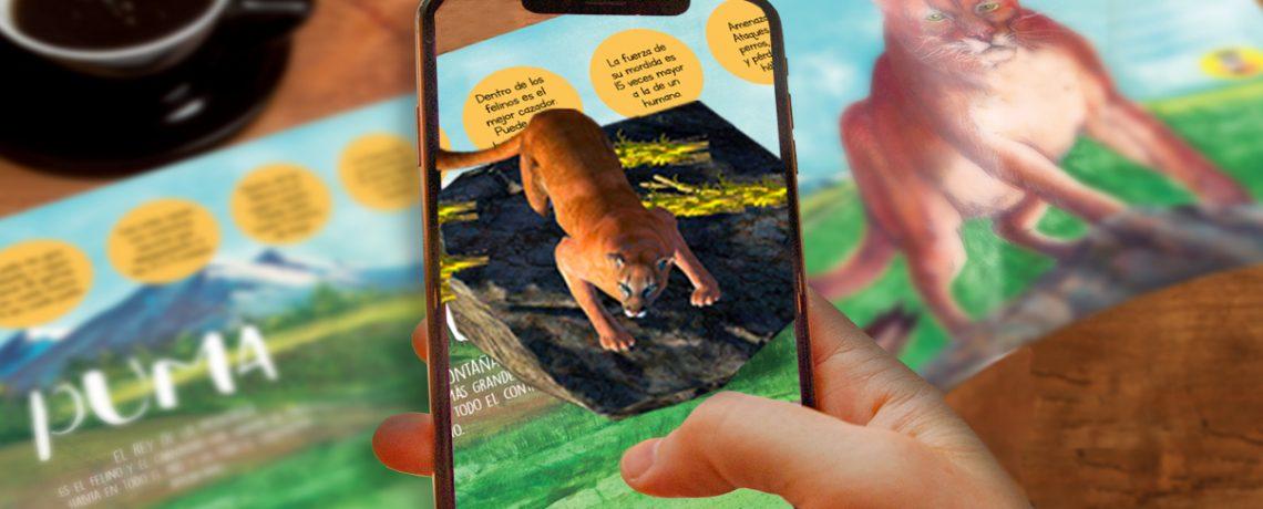 Integra y SAG lanzan libro infantil en 3D sobre fauna silvestre