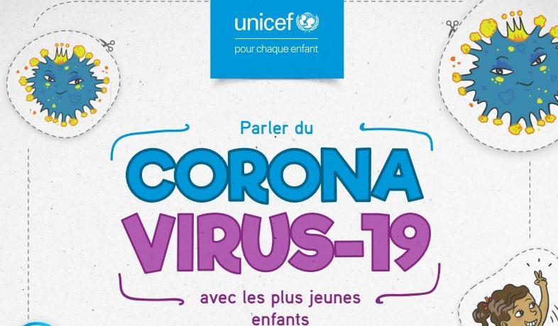 Parler du coronavirus 19 avec les plus jeunes enfants