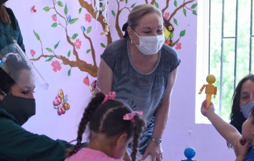 Primera Dama destaca estudio sobre efectos de la pandemia en niños/as y sus familias