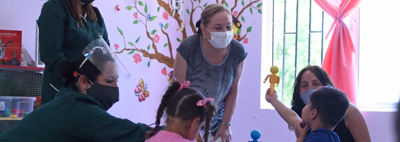 Primera Dama supervisa reapertura de jardines infantiles de Integra